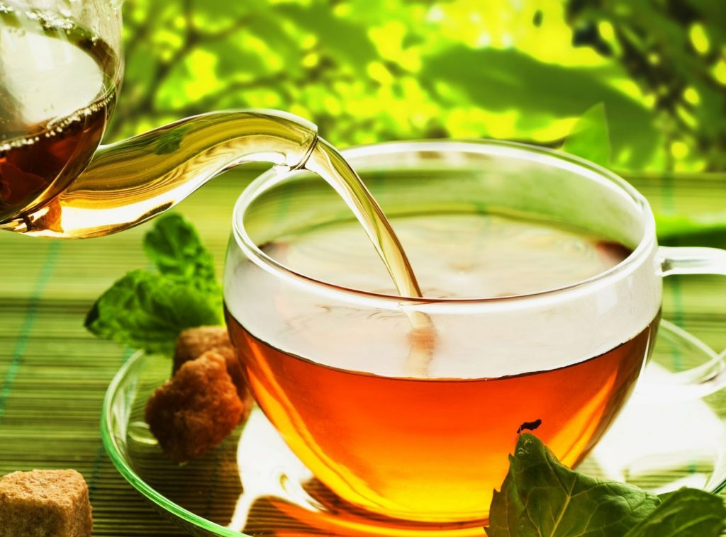 green tea : natural remedies for anxiety